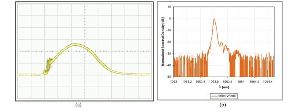 1064 nm DBR interferogram