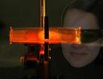 Rubidium D1 line resonance fluorescence