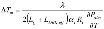 Temp tuning equation