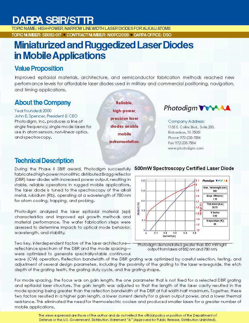 Photodigm Success Story Page 1